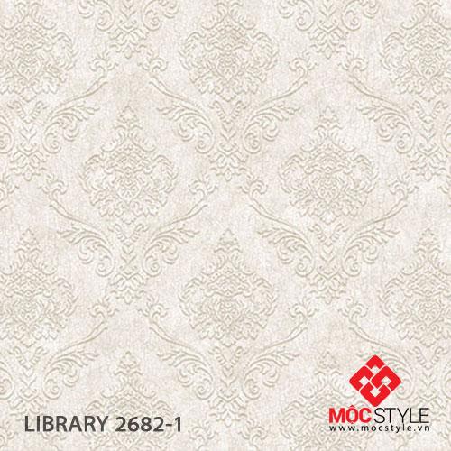 Giấy dán tường Library 2682-1