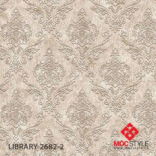 Giấy dán tường Library 2682-2