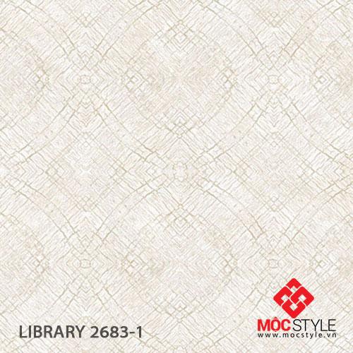 Giấy dán tường Library 2683-1