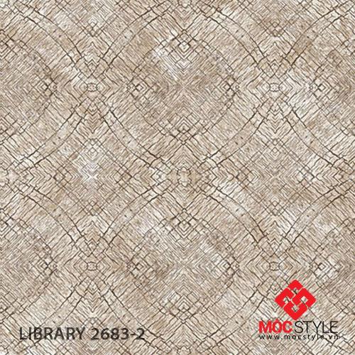 Giấy dán tường Library 2683-2