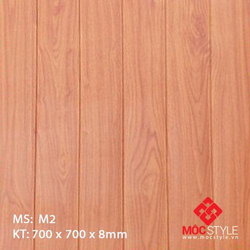 Xốp dán tường vân gỗ M2