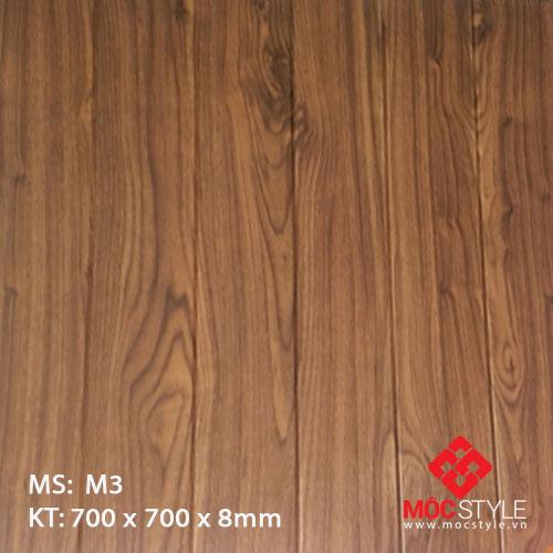 Xốp dán tường vân gỗ M3