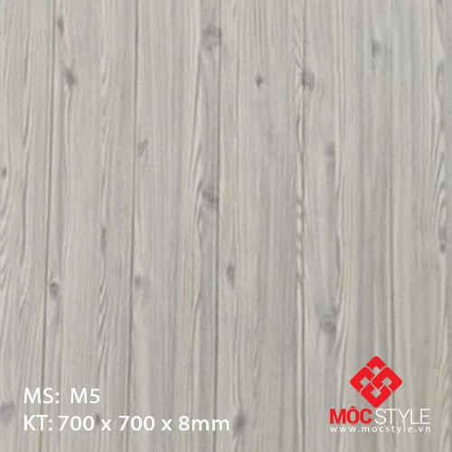 Xốp dán tường vân gỗ M5