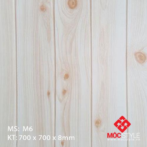 Xốp dán tường vân gỗ M6