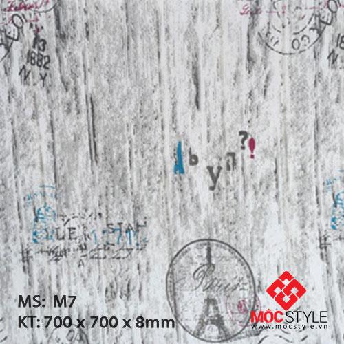 Xốp dán tường vân gỗ M7
