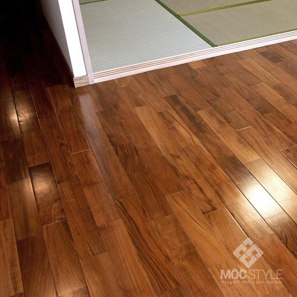 Sàn gỗ Teak 1050mm