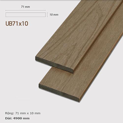 Ốp tường gỗ UltrAwood UB71x10 Teak