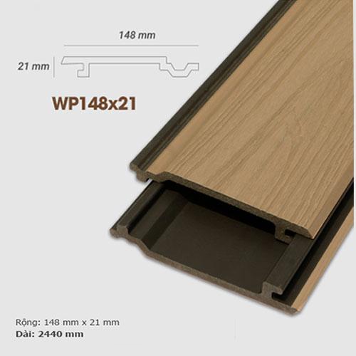 Ốp tường gỗ UltrAwood WP148x21 - màu Maple