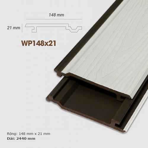 Ốp tường gỗ UltrAwood WP148x21 - màu White