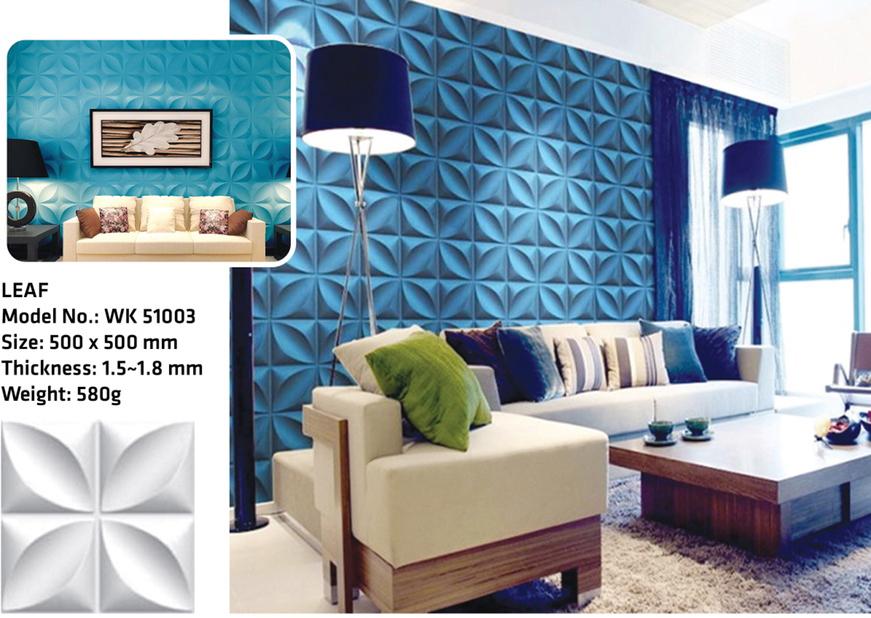 Tấm ốp tường 3D LEAF WK51003