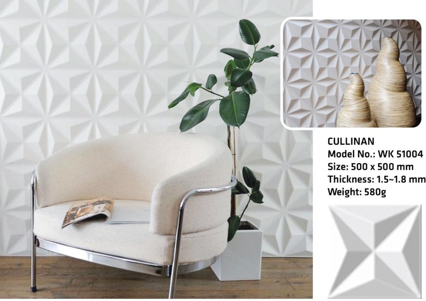 Tấm ốp tường 3D CULLINAN WK51004