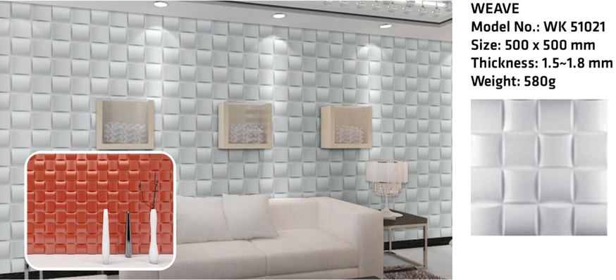 Tấm ốp tường 3D WEAVE WK51021