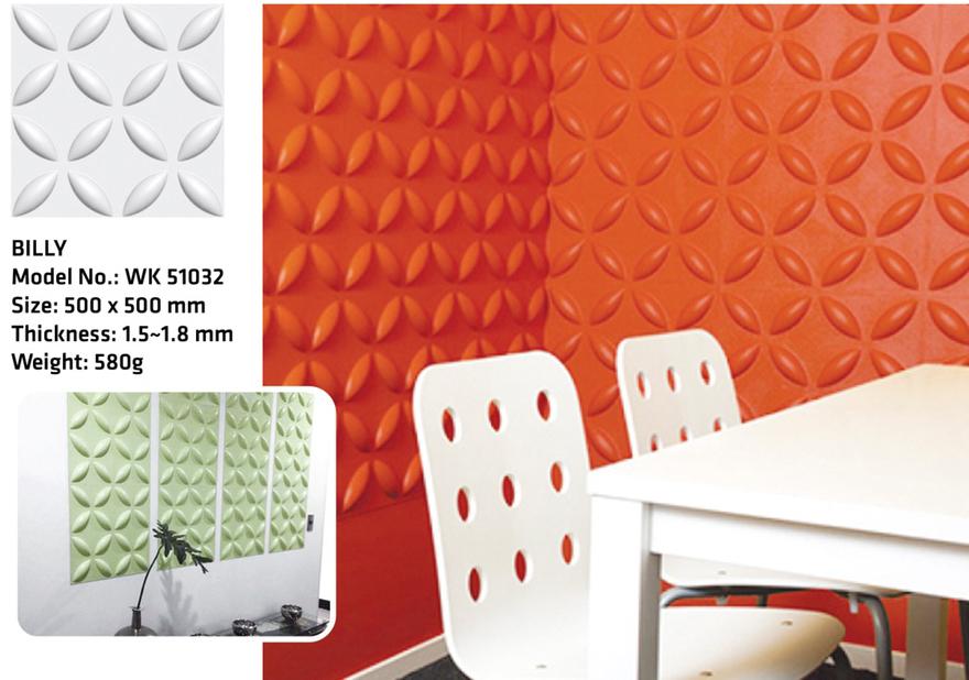 Tấm ốp tường 3D BILLY WK51032