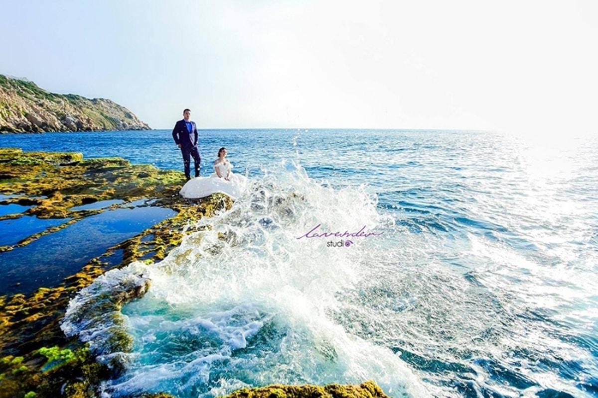 thác nước trên biển