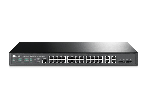 jetstream-24-port-10-100mbps-4-port-gigabit-l2-managed-switch-tp-link-t2500-28tc
