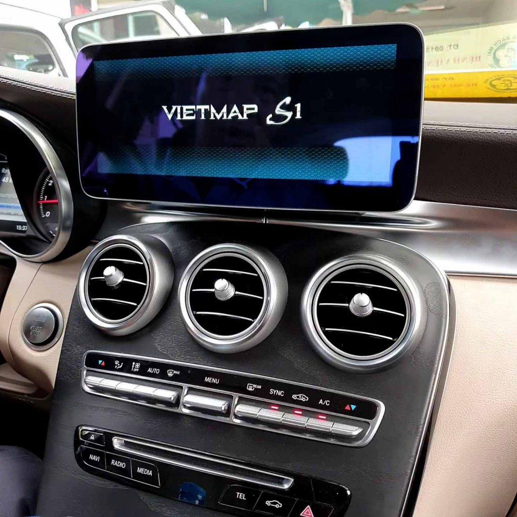 Màn hình android Mercedes C ,glc, e...