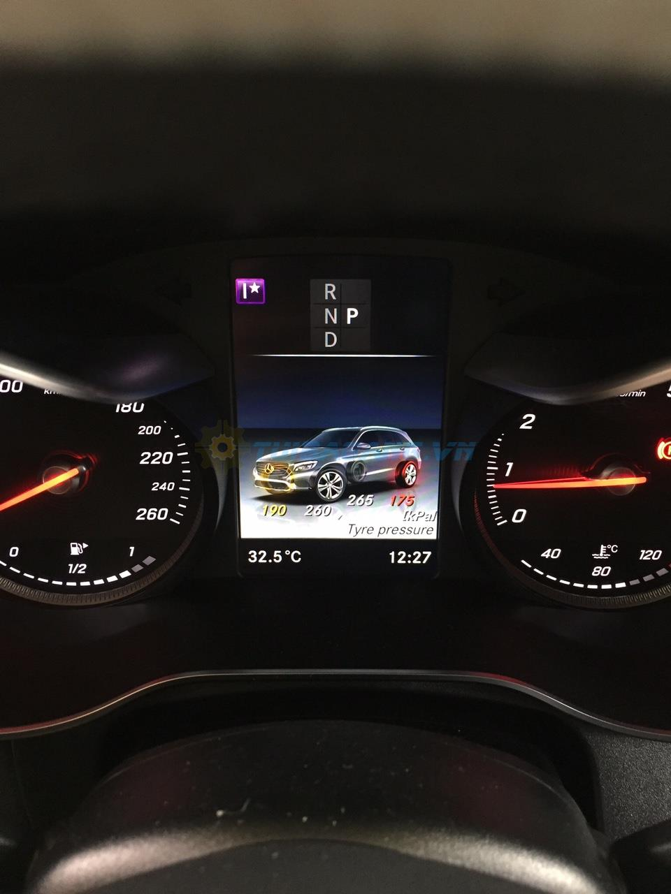 Cảm biến áp suất lốp TPMS Mercedes GLC ,C ,E ,S...