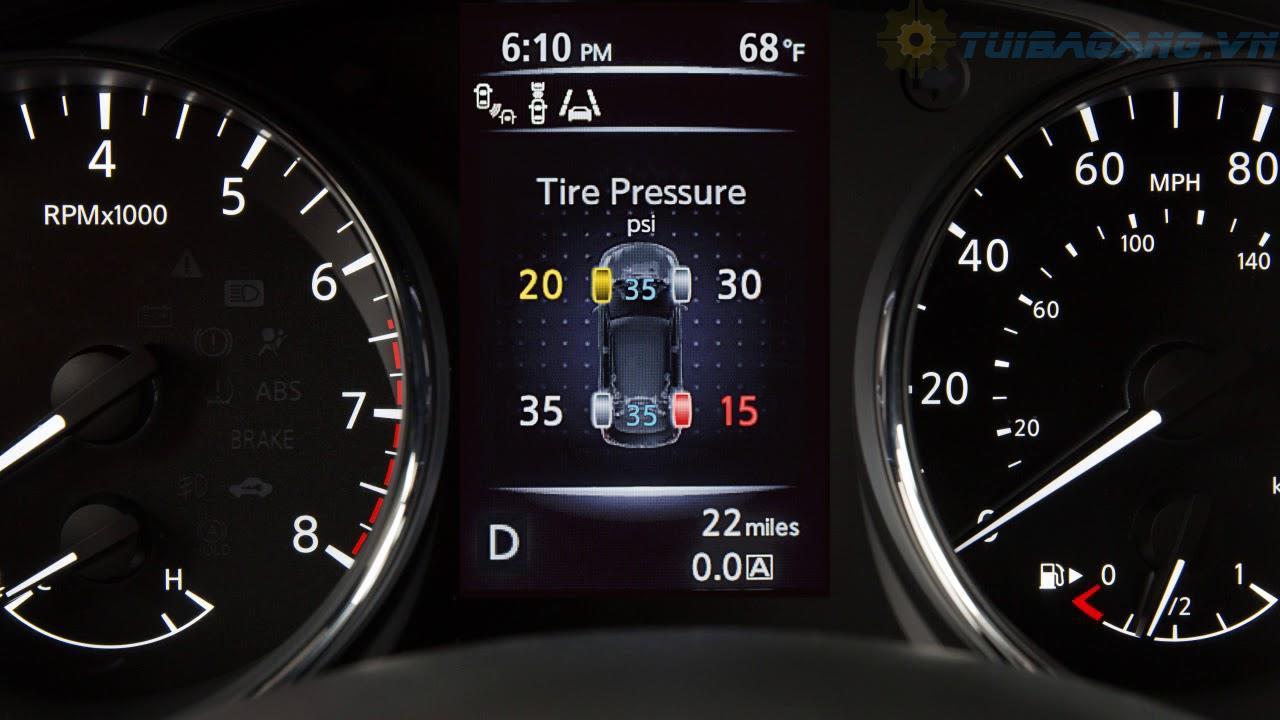 Cảm biến áp suất lốp Nissan X-trail ,Teana ,Quashai...