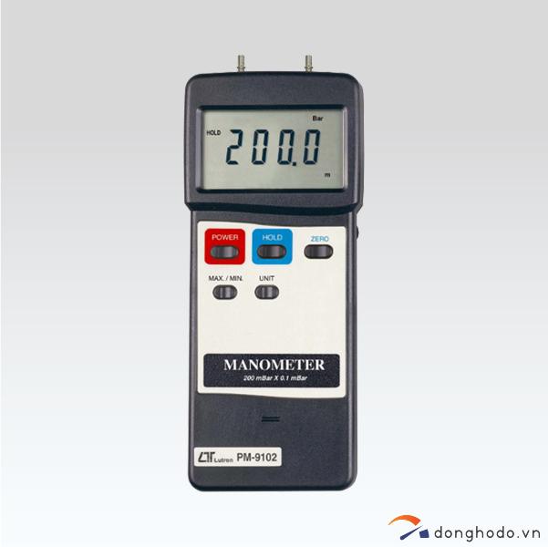 Máy đo áp suất chênh lệch LUTRON PM-9100