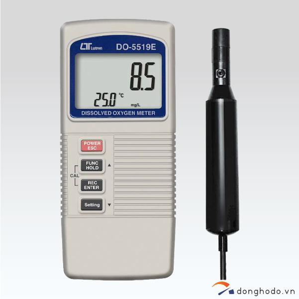 Máy đo Oxy/O2 hòa tan trong dung dịch LUTRON DO-5519 trọn bộ