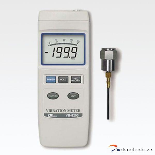 Máy đo độ rung LUTRON VB-8203 trọn bộ