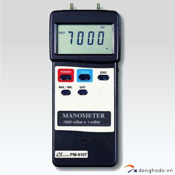 Máy đo áp suất chênh lệch LUTRON PM-9107