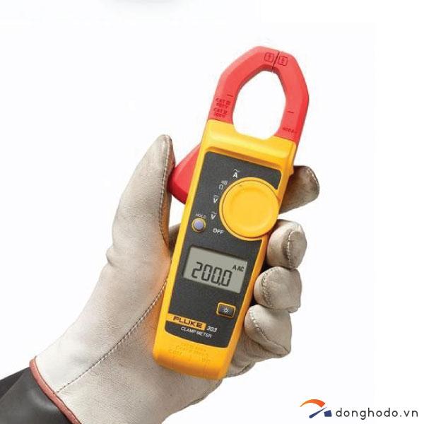 Ampe kìm đo dòng AC FLUKE 303 (600A) nguyên chiếc