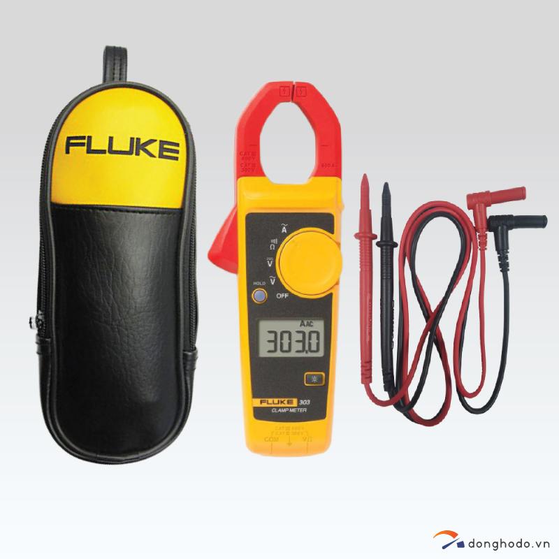 Ampe kìm đo dòng AC FLUKE 303 (600A) trọn bộ