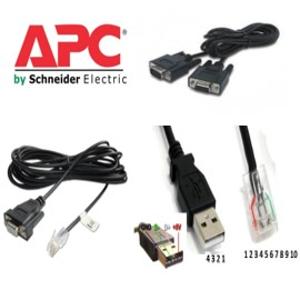 Cáp Điều Khiển APC Schneider UPS Và APC Metered Rack PDU