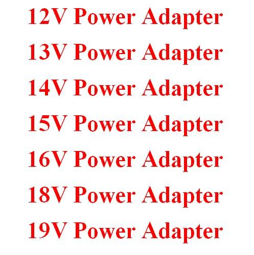 12V 13V 14V 15V 16V 18V 19V Power Adapter