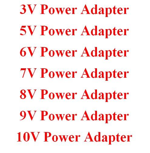 3V 5V 6V 7V 8V 9V 10V Power Adapter