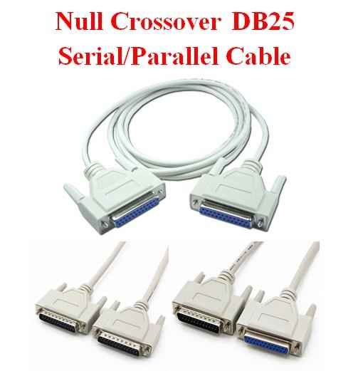 Cáp DB25 Serial LPT Parallel 1284 Chuẩn Kết Nối Chéo