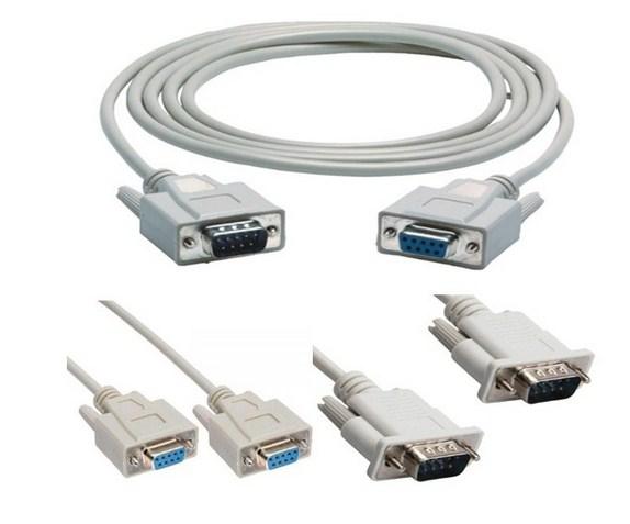 Cáp RS232 Serial DB9 to DB9
