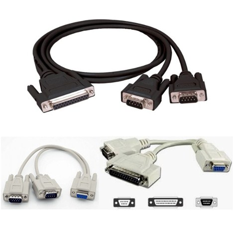 Cáp Kết Nối RS232 Serial Y Cable