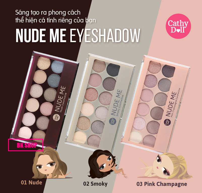 Nude Me Eye Shadow 01