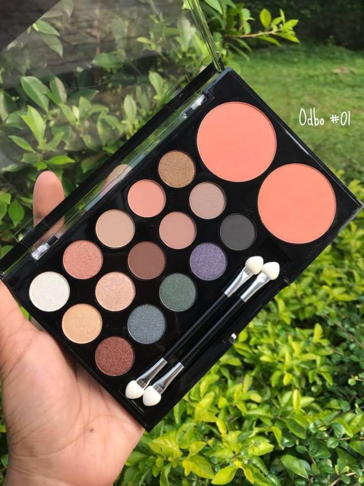 Odbo Colorful Life Makeup Palette (1) - Copy