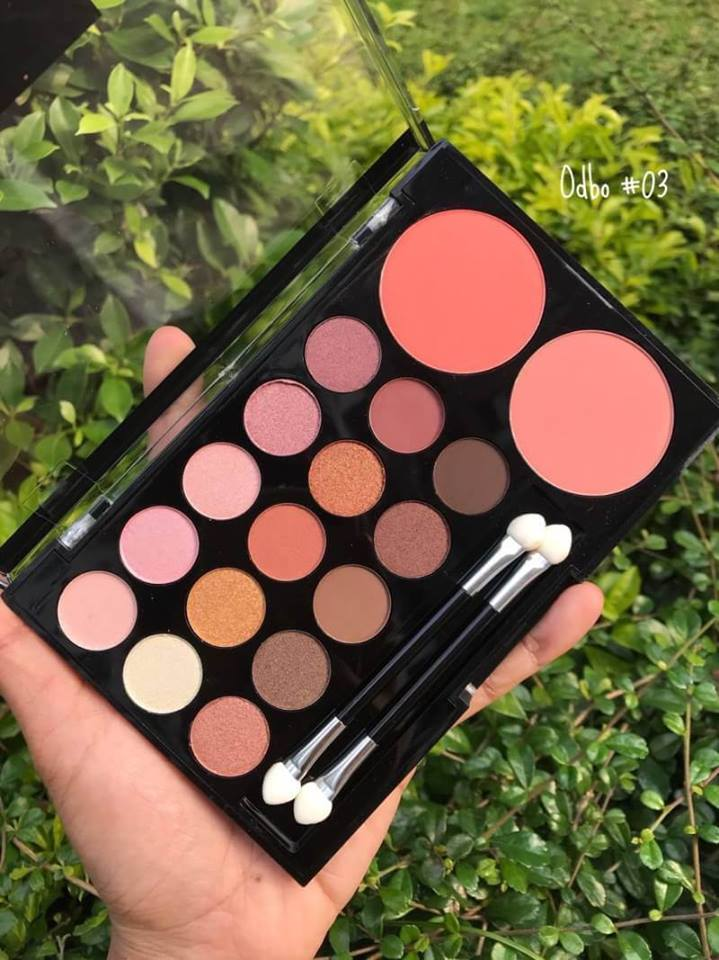 Odbo Colorful Life Makeup Palette 33