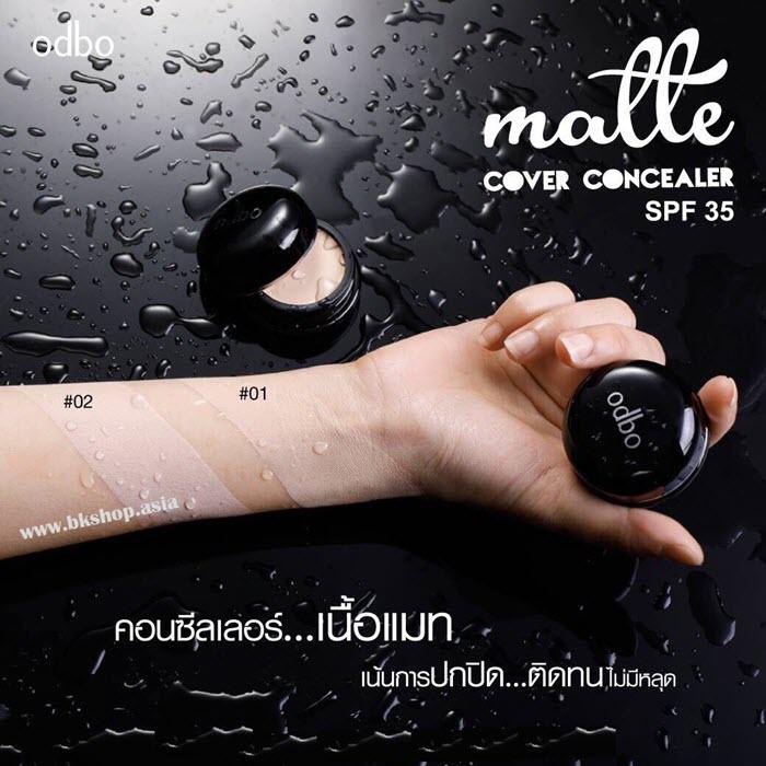 Odbo matte cover concealer spf 35 (1)