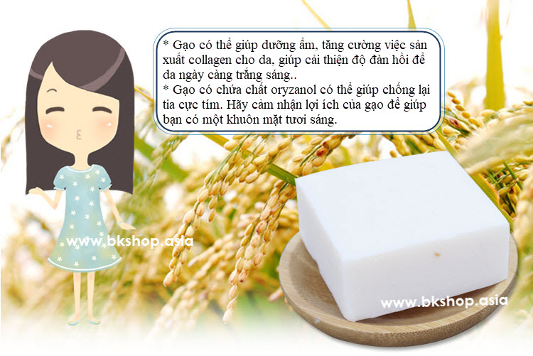 rice soap