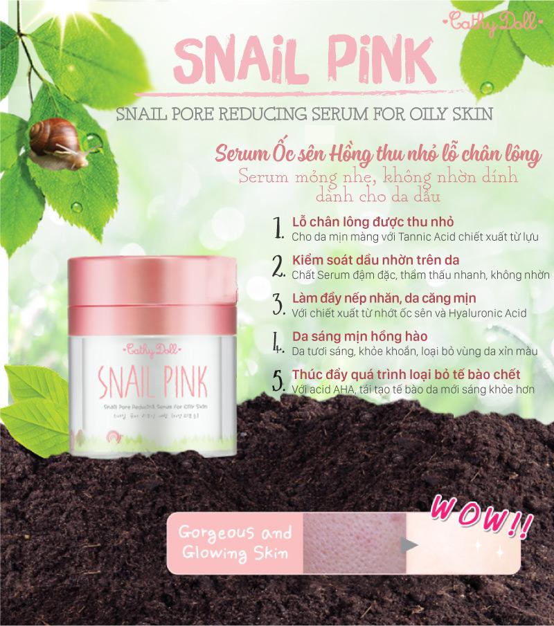 Snail Pink 01