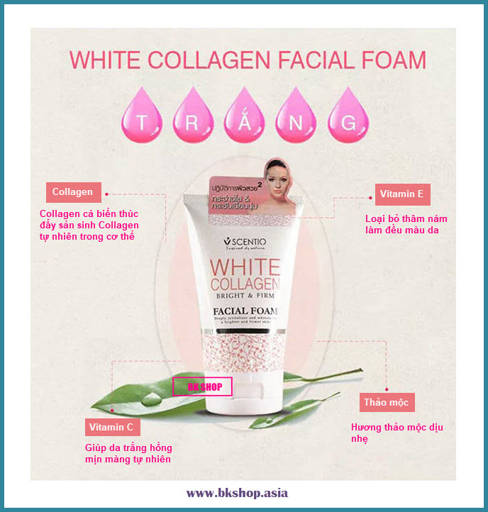 white collagen