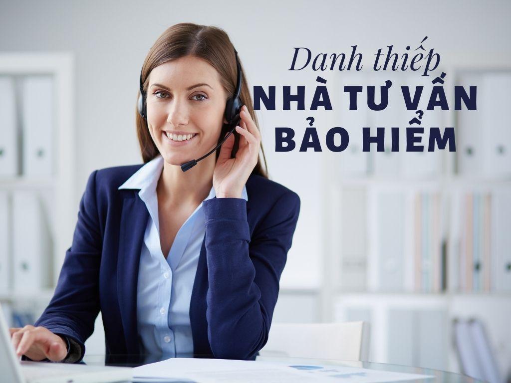 Dịch vụ Danh thiếp dành riêng cho Nhà tư vấn Bảo hiểm