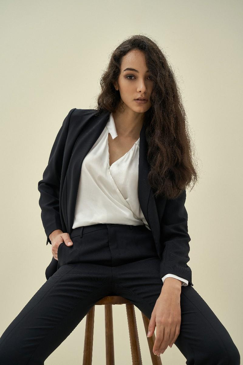 Scarf Blazer - Áo Blazer Nữ