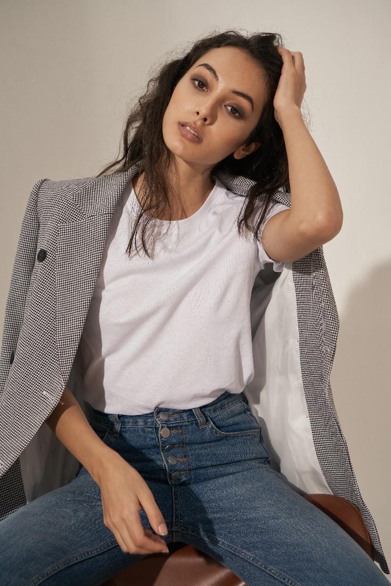 Muse Basic Short Sleeve Tee - Áo Thun 100% Cotton Ngắn Tay