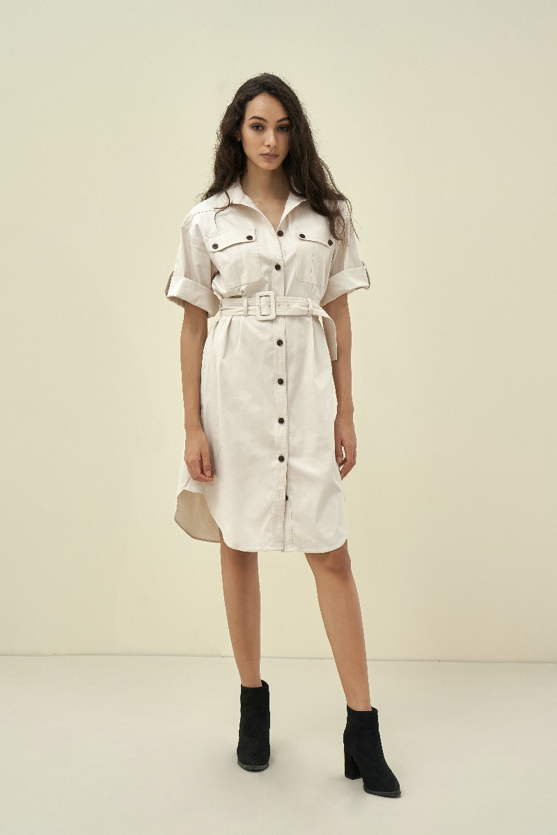 Pocket Demim Dress - Đầm Denim Kèm Túi