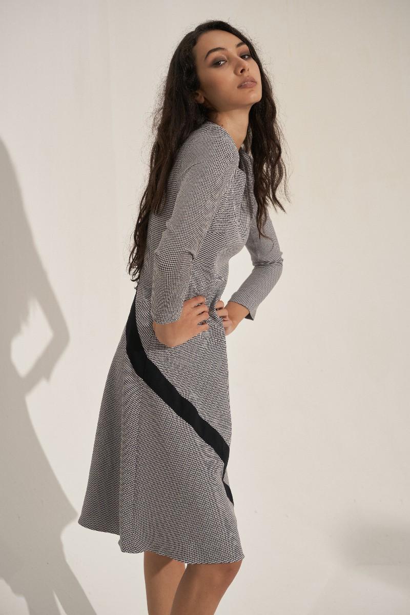 Đầm Houndtooth 3