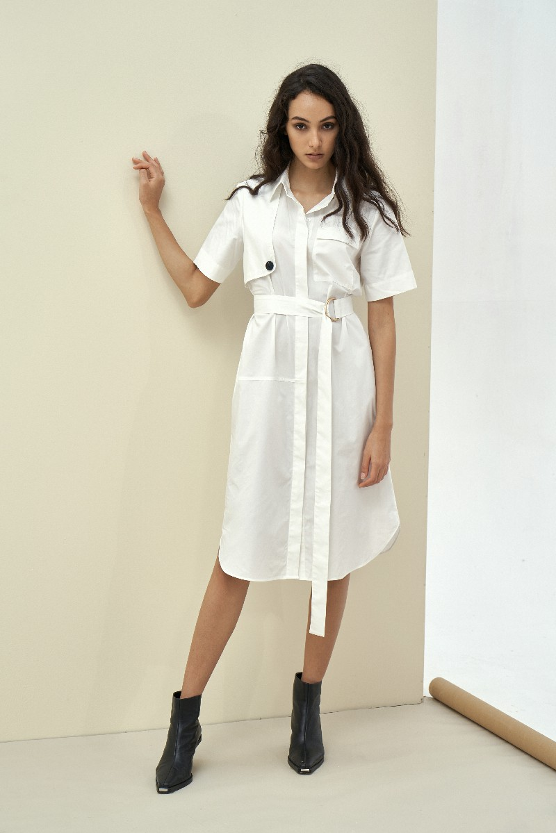 Shirt Maxi Dress - Đầm Sơ Mi Maxi