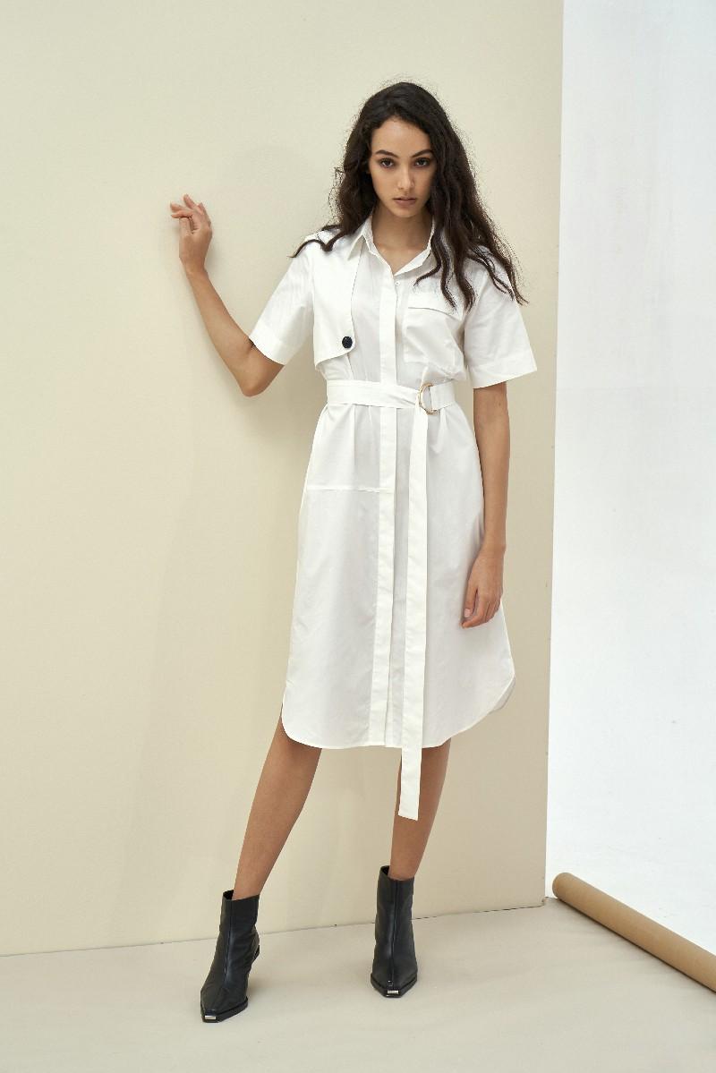 Shirt Maxi Dress - Đầm Sơ Mi Maxi