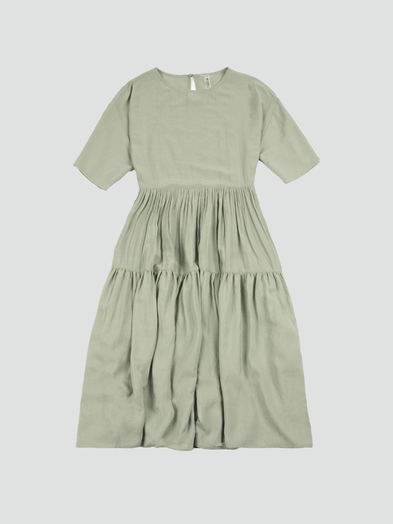 Váy bồng xanh bạc hà 4