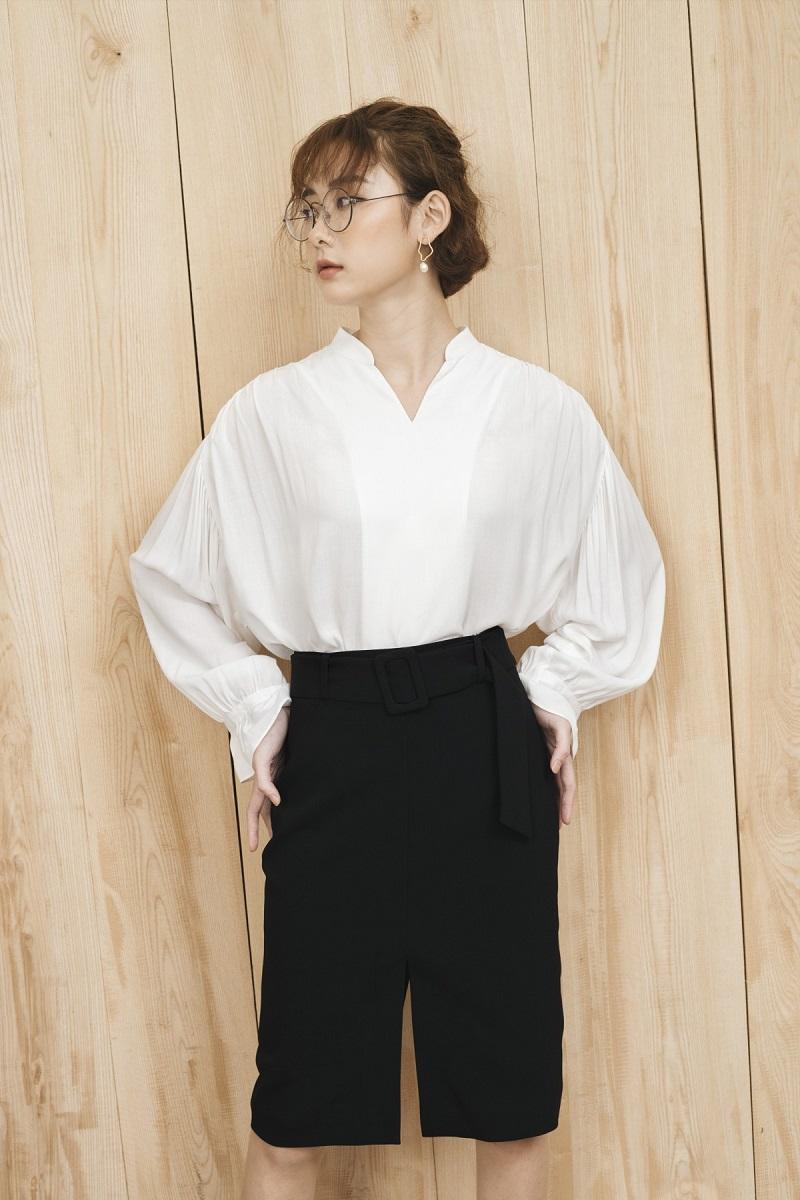 Black Pencil Skirt - Váy Bút Chì Đen